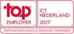 Logo Top Employer ICT NL 2017